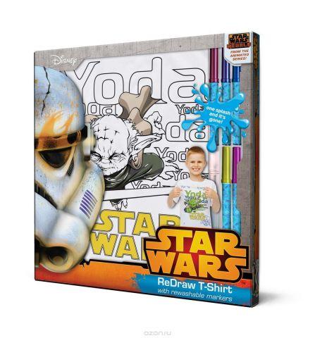 Star Wars Футболка с фломастерами для раскрашивания возраст 8 лет/рост 128 см