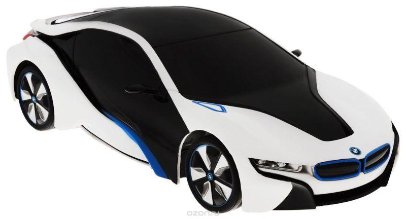 Rastar Радиоуправляемая модель BMW i8 цвет черный белый масштаб 1:24