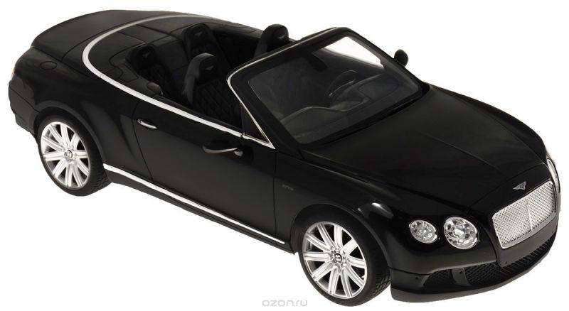 Rastar Радиоуправляемая модель Bentley Continental GT Speed Convertible цвет черный