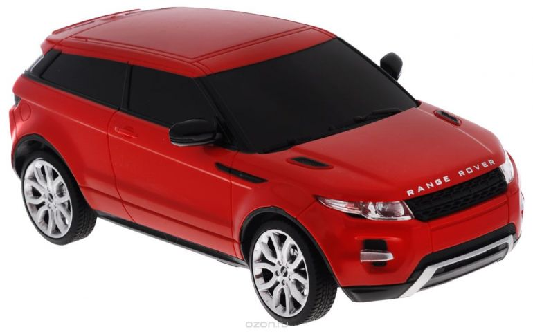 Rastar Радиоуправляемая модель Range Rover Evoque цвет красный масштаб 1:24