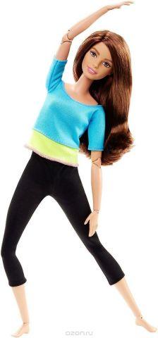 Barbie Кукла Безграничные движения цвет одежды голубой желтый