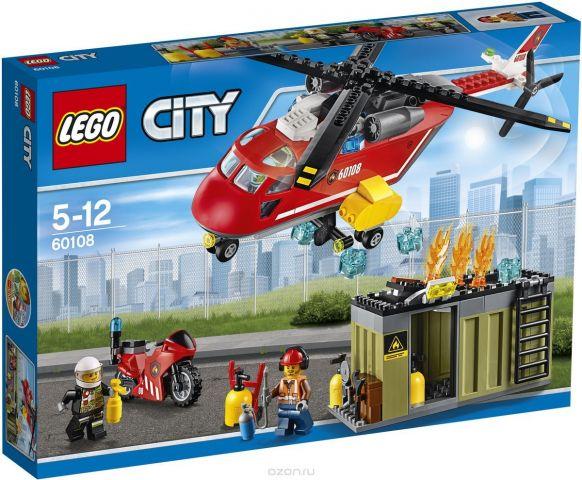 LEGO City Конструктор Пожарная команда быстрого реагирования 60108