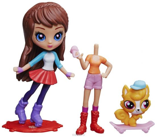 Littlest Pet Shop Набор фигурок Blythe & Aliatair Royal