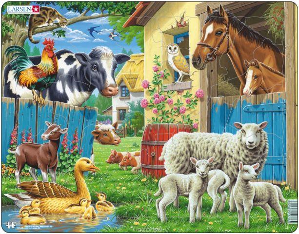 Larsen Пазл Животные фермы