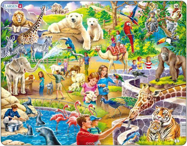 Larsen Пазл Зоопарк