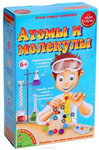 Bondibon Набор для опытов Атомы и молекулы