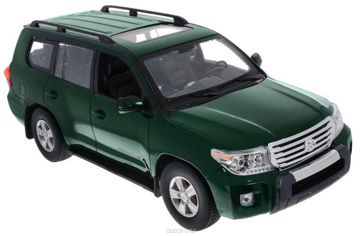 Rastar Радиоуправляемая модель Toyota Land Cruiser цвет темно-зеленый