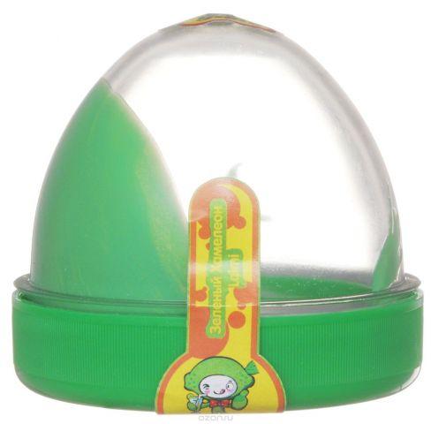 """Жвачка для рук """"ТМ HandGum"""", цвет: зеленый хамелеон, с запахом лимона, 35 г"""