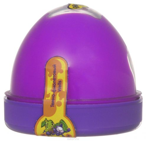 """Жвачка для рук """"ТМ HandGum"""", цвет: фиолетовый, с запахом киви и винограда, 35 г"""