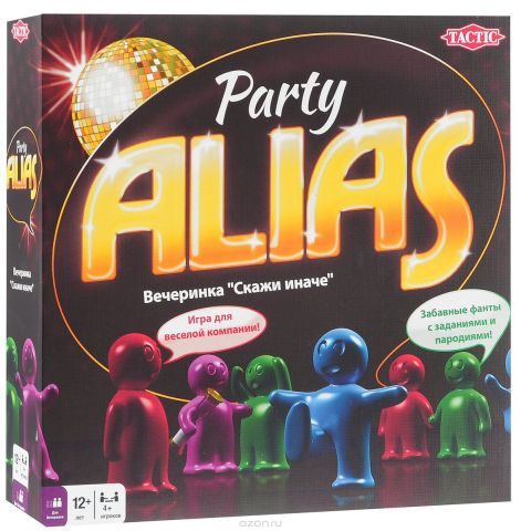 Tactic Games Настольная игра Party Alias Скажи иначе Вечеринка 2
