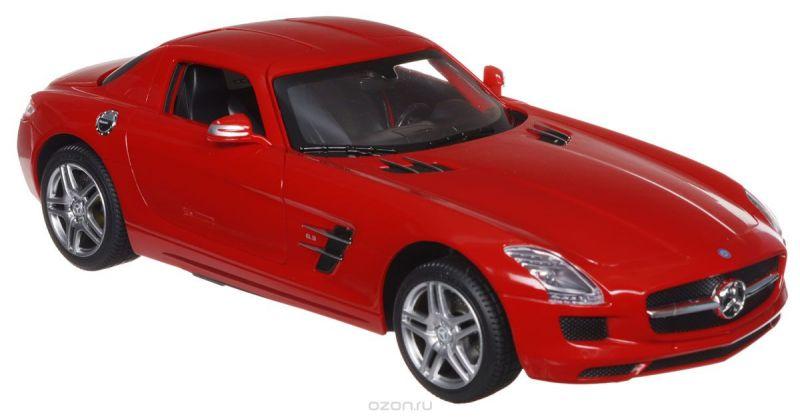 Rastar Радиоуправляемая модель Mercedes-Benz SLS AMG цвет красный масштаб 1:14