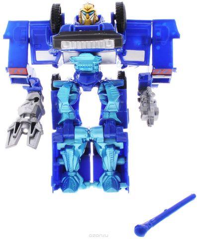 Тилибом Робот-трансформер цвет синий голубой
