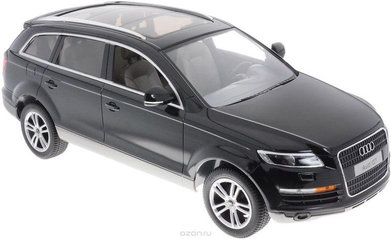 Rastar Радиоуправляемая модель Audi Q7 цвет черный масштаб 1:14