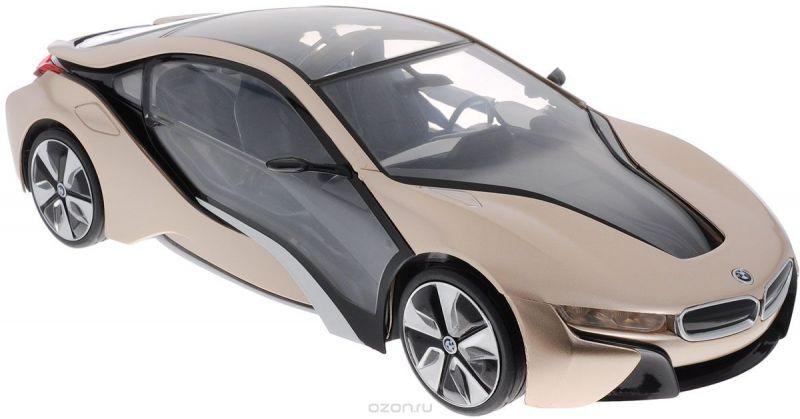 Rastar Радиоуправляемая модель BMW i8 цвет золотистый черный