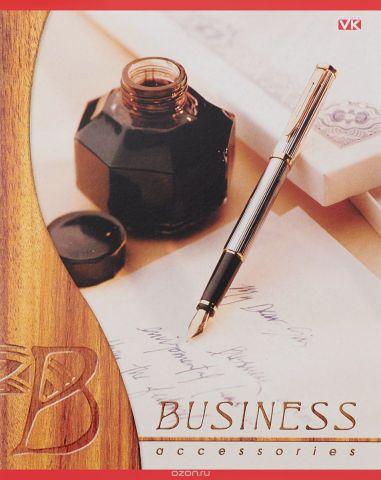 Hatber Тетрадь Business 96 листов в клетку цвет коричневый
