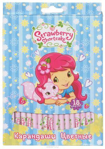 Action! Набор цветных карандашей Strawberry Shortcake 18 цветов
