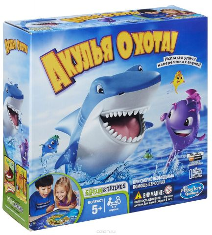 "Hasbro Games Настольная игра ""Акулья охота"""