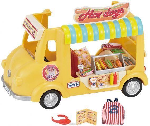 Sylvanian Families Игровой набор Фургон с хот-догами