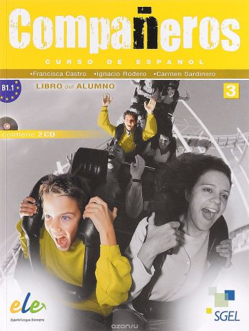 Companeros 3 Libro del Alumno +CD