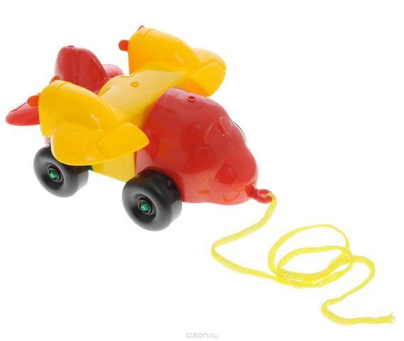 Bauer Каталка-конструктор Самолет цвет красный желтый