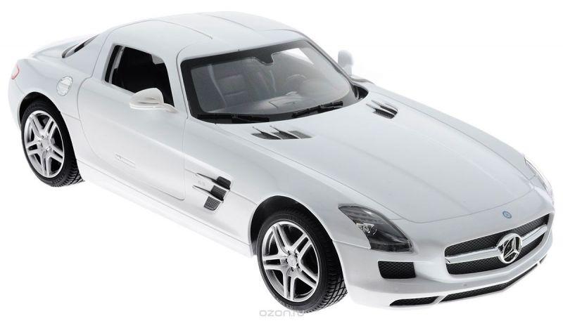 Rastar Радиоуправляемая модель Mercedes-Benz SLS AMG цвет белый