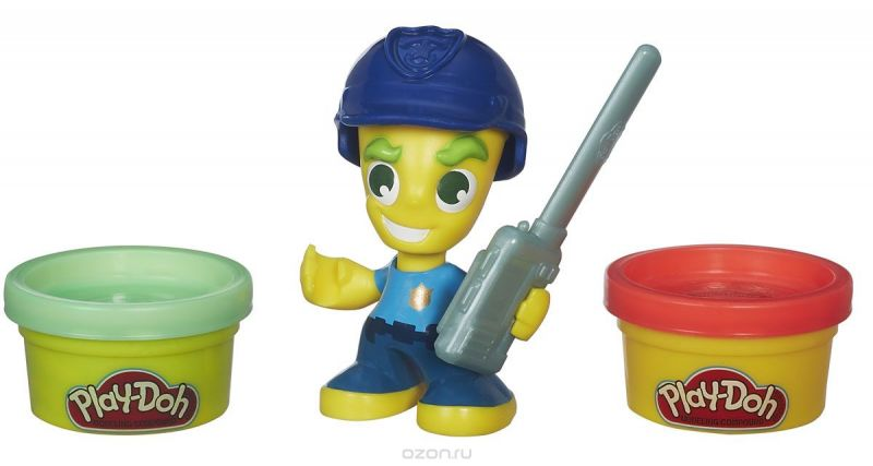 Play-Doh Игровой набор Полицейский