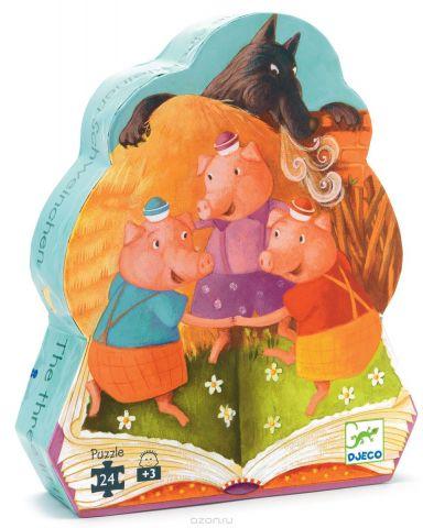 Djeco Пазл для малышей Три поросенка