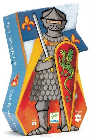 Djeco Пазл для малышей Рыцарь и дракон