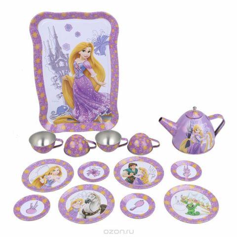 Disney Игрушечный набор посуды Принцесса Рапунцель