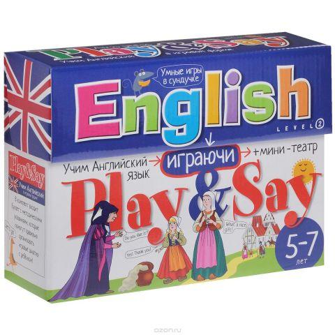 Айрис-пресс Обучающая игра Английский Играй и говори Уровень 2