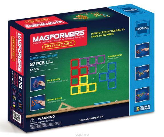 Magformers Магнитный конструктор Увлекательная математика