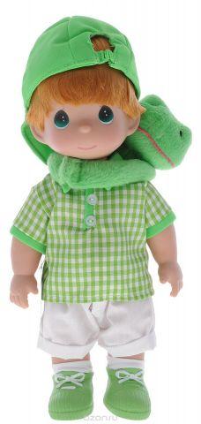 Precious Moments Кукла Мальчик и лягушонок Элли