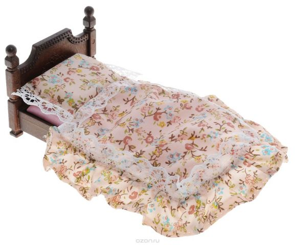 Sylvanian Families Игровой набор Большая кровать
