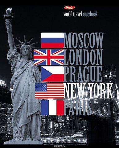 Hatber Тетрадь World Travel New York 96 листов в клетку