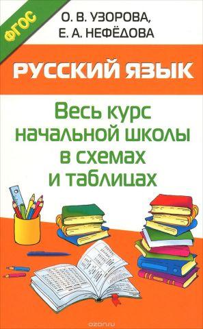 Русский язык. Весь курс начальной школы в схемах и таблицах. Учебное пособие