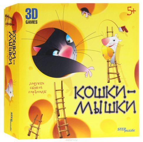 Step Puzzle Обучающая игра Кошки-мышки