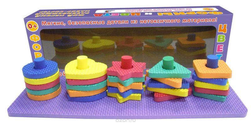 Робинс Настольная игра Мой первый развивающий набор-сортер Формы и цвета