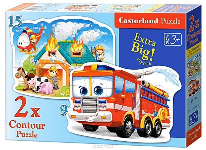 Castorland Пазл Пожарная команда