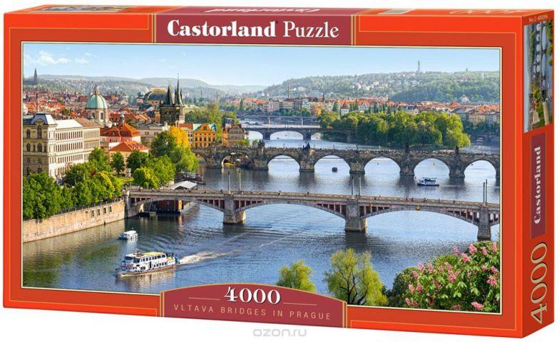 Castorland Пазл Река Влтава Прага