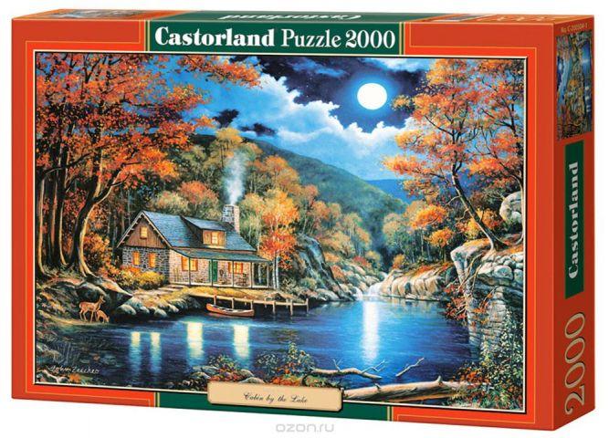 Castorland Пазл Домик на озере