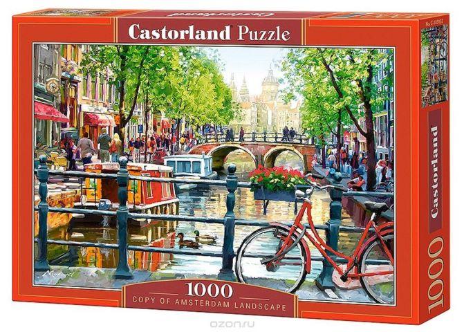Castorland Пазл Пейзаж Амстердам