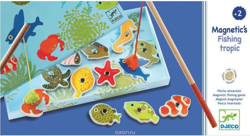 Djeco Обучающая игра Тропическая рыбалка