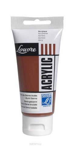 "Краска акриловая Lefranc & Bourgeois ""Louvre"", цвет: жженая сиена (481), 80 мл"