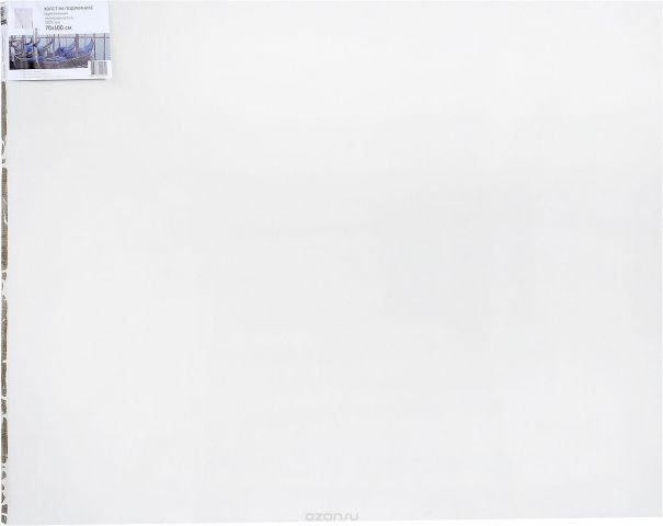 """Холст ArtQuaDrum """"Мелкозернистый"""" 70 х 100 см, на подрамнике, грунтованный"""