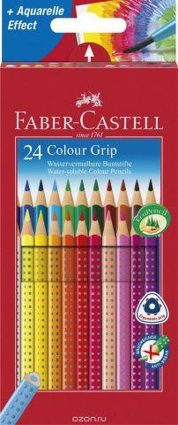 Faber-Castell Цветные карандаши Grip 24 цвета