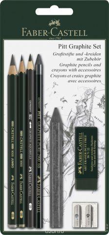 Faber-Castell Набор пастельных карандашей и мелков Pitt