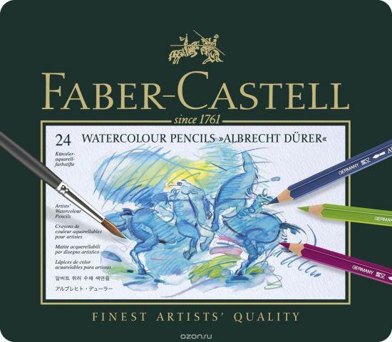 Faber-Castell Акварельные карандаши Albrecht Durer 24 шт