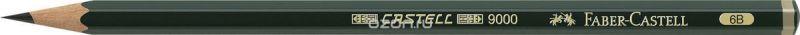Faber-Castell Карандаш чернографитный Castell 9000 твердость 6B