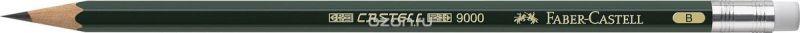 Faber-Castell Карандаш чернографитовый Castell 9000 твердость B