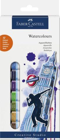 Faber-Castell Краски акварельные 12 шт